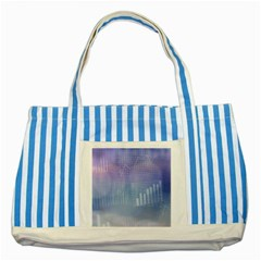 Business Background Blue Corporate Striped Blue Tote Bag
