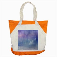 Business Background Blue Corporate Accent Tote Bag