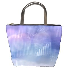 Business Background Blue Corporate Bucket Bags