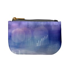 Business Background Blue Corporate Mini Coin Purses