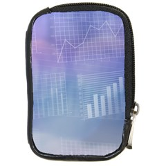 Business Background Blue Corporate Compact Camera Cases
