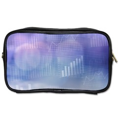 Business Background Blue Corporate Toiletries Bags