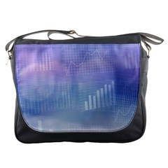 Business Background Blue Corporate Messenger Bags