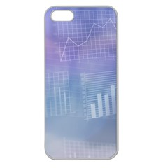 Business Background Blue Corporate Apple Seamless Iphone 5 Case (clear)
