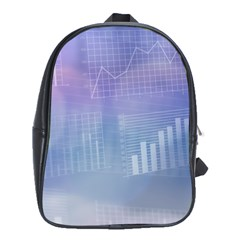 Business Background Blue Corporate School Bags (xl)