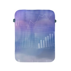 Business Background Blue Corporate Apple iPad 2/3/4 Protective Soft Cases