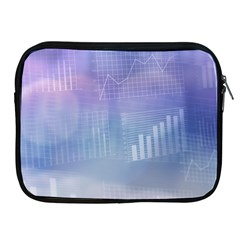Business Background Blue Corporate Apple Ipad 2/3/4 Zipper Cases