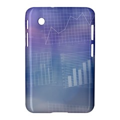 Business Background Blue Corporate Samsung Galaxy Tab 2 (7 ) P3100 Hardshell Case