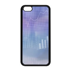 Business Background Blue Corporate Apple Iphone 5c Seamless Case (black)