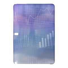 Business Background Blue Corporate Samsung Galaxy Tab Pro 10.1 Hardshell Case