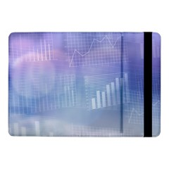 Business Background Blue Corporate Samsung Galaxy Tab Pro 10.1  Flip Case