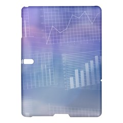 Business Background Blue Corporate Samsung Galaxy Tab S (10.5 ) Hardshell Case