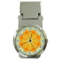 Sunshine Sunny Sun Abstract Yellow Money Clip Watches