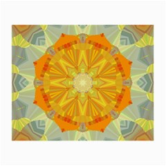 Sunshine Sunny Sun Abstract Yellow Small Glasses Cloth (2-Side)