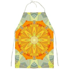 Sunshine Sunny Sun Abstract Yellow Full Print Aprons