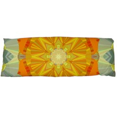 Sunshine Sunny Sun Abstract Yellow Body Pillow Case (dakimakura)