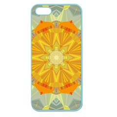 Sunshine Sunny Sun Abstract Yellow Apple Seamless iPhone 5 Case (Color)