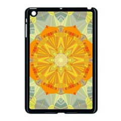 Sunshine Sunny Sun Abstract Yellow Apple Ipad Mini Case (black)