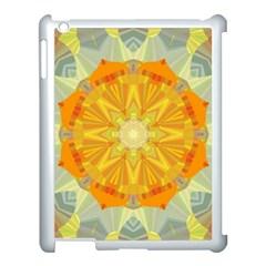 Sunshine Sunny Sun Abstract Yellow Apple Ipad 3/4 Case (white)