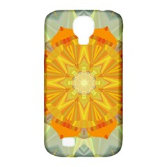 Sunshine Sunny Sun Abstract Yellow Samsung Galaxy S4 Classic Hardshell Case (pc+silicone)