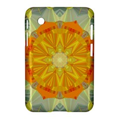 Sunshine Sunny Sun Abstract Yellow Samsung Galaxy Tab 2 (7 ) P3100 Hardshell Case