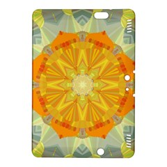 Sunshine Sunny Sun Abstract Yellow Kindle Fire Hdx 8 9  Hardshell Case
