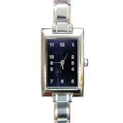 Abstract Dark Stylish Background Rectangle Italian Charm Watch