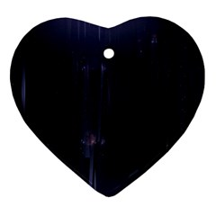 Abstract Dark Stylish Background Ornament (heart)