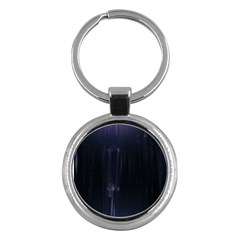 Abstract Dark Stylish Background Key Chains (Round)
