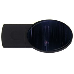 Abstract Dark Stylish Background USB Flash Drive Oval (4 GB)