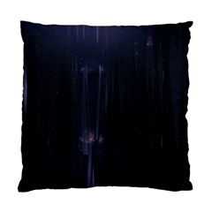 Abstract Dark Stylish Background Standard Cushion Case (One Side)