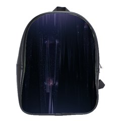 Abstract Dark Stylish Background School Bags(Large)