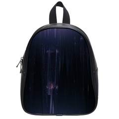 Abstract Dark Stylish Background School Bags (Small)