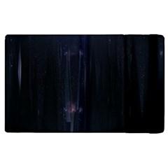 Abstract Dark Stylish Background Apple Ipad 2 Flip Case