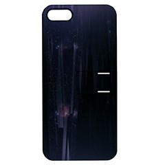 Abstract Dark Stylish Background Apple Iphone 5 Hardshell Case With Stand