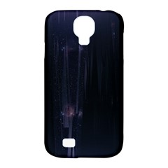 Abstract Dark Stylish Background Samsung Galaxy S4 Classic Hardshell Case (pc+silicone)