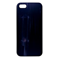 Abstract Dark Stylish Background Iphone 5s/ Se Premium Hardshell Case