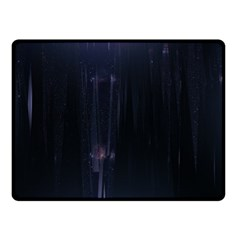 Abstract Dark Stylish Background Double Sided Fleece Blanket (small)