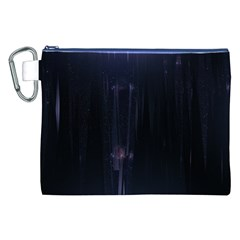 Abstract Dark Stylish Background Canvas Cosmetic Bag (xxl)