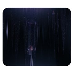 Abstract Dark Stylish Background Double Sided Flano Blanket (Small)