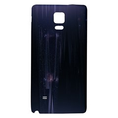 Abstract Dark Stylish Background Galaxy Note 4 Back Case