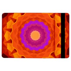 Mandala Orange Pink Bright Ipad Air 2 Flip