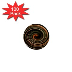 Strudel Spiral Eddy Background 1  Mini Magnets (100 Pack)
