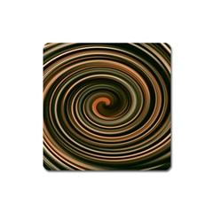 Strudel Spiral Eddy Background Square Magnet
