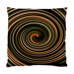 Strudel Spiral Eddy Background Standard Cushion Case (One Side)