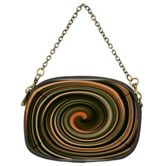 Strudel Spiral Eddy Background Chain Purses (Two Sides)