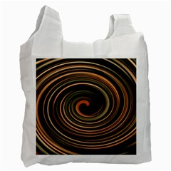 Strudel Spiral Eddy Background Recycle Bag (One Side)
