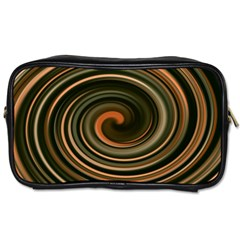 Strudel Spiral Eddy Background Toiletries Bags 2 Side