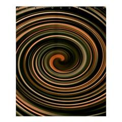 Strudel Spiral Eddy Background Shower Curtain 60  x 72  (Medium)