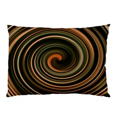 Strudel Spiral Eddy Background Pillow Case (Two Sides)